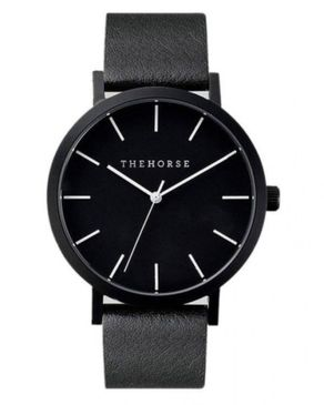 The Horse Unisex Leather Wristwatch