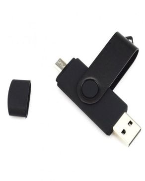 Universal 16GB OTG Dual Flash Drive - Black