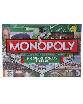 Bestman Games Hasbro Monopoly Nigeria Centenary Edition: Rectangle