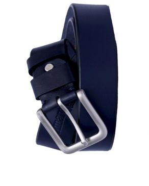 Timaro James Collection Unisex Casual Belt- Blue