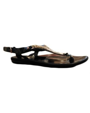 Rong Chen Fancy Female Sandal - Black