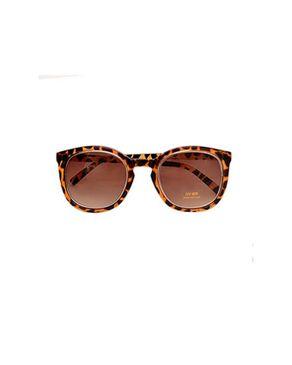 New Religion The Zoom Retro Square Sunglasses - Brown