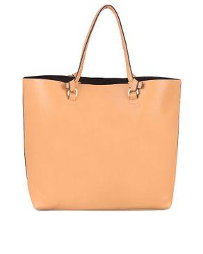 Zara Big Tote Bag - Light Brown