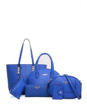 VISION FILL 6 in 1 Solid Handbag - Blue
