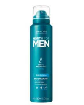 ORIFLAME North for Men Deo Spray 24H