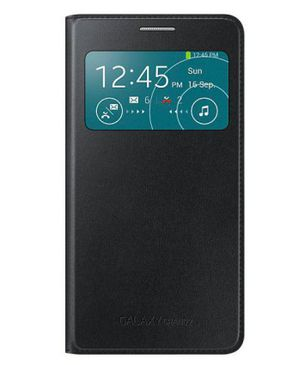 Universal Samsung Grand S-View Flip Cover - Black