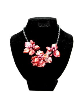 Team Rose Petals Beaded Jewelry - Red