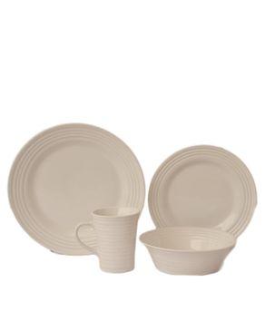 Baum 16 Piece Dinnerware Set - White