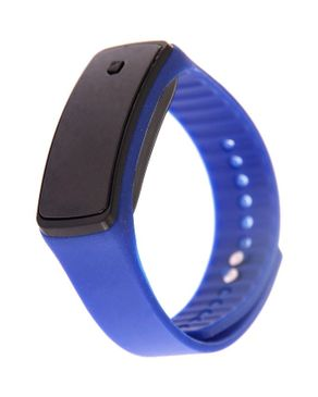 Universal Blue LED Watch with Black Dial