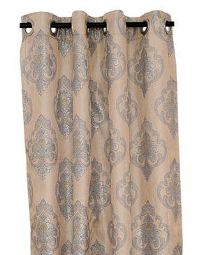 Jason Patrick Elegant Eyelet Curtain - Grey