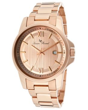 Buy Lucien Piccard Breithorn Rose Gold Dial Watch just for ₦ 17,995