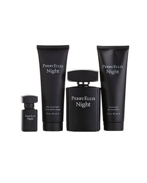 Perry Ellis Night 4PC Gift Set EDT For Him