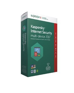 Kaspersky Internet Security Multi-Device 2017 - 1PC + 1Free User