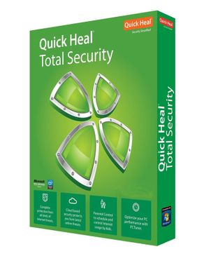 Quick Heal Total Security - 3 USERS/ 1 YEAR