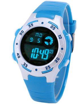 Diray Children Digital Watch LED Alarm Display - Azure