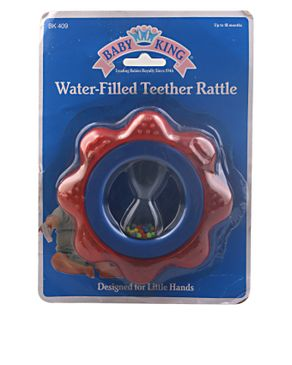 American Collection Water filled teether rattle