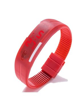Universal Smart Unisex LED Watch - Red