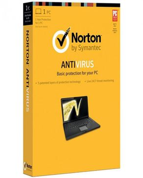 W.W Norton & Company Norton Antivirus - 1user