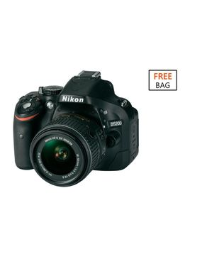 Nikon D5200 (18-55) VRII Camera Kit + Free SLR Bag, Camera Strap And Nikon School Voucher