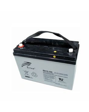 Ritar Ritar 12V/100Ah AGM Deepcycle Battery - 10 Years Lifespan