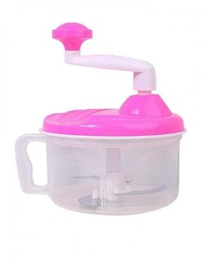 Universal (Reduced Shipping Fee) Manual Blender & Food Processor - Pink