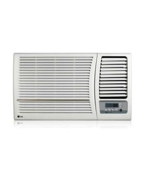 LG Window Air Conditioner 1.5 HP R - White