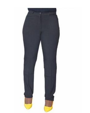 AWW Formal Cotton Trouser- Black