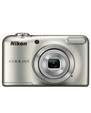 Nikon Coolpix L29 Digital Camera(Silver) + Free 4G SD Card