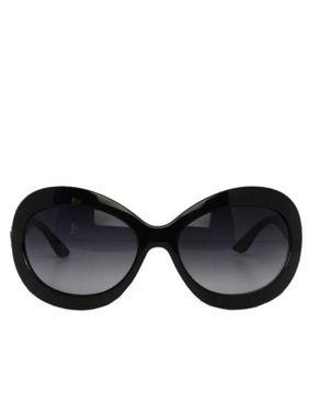 Fashion Round-Face Designer Unisex Sunglasses-Black