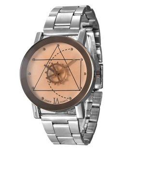 Xinew Bracelet Wrist Watch- Silver