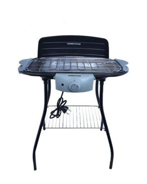 Crown Star Electric Barbeque Grill With Stand