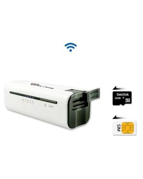 Universal Wi-Fi/WCDMA 3G/4G Mobile Power Internet Router