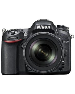 Nikon D7100 Kit 24.1MP Digital SLR Camera - Black