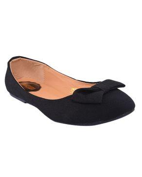 SMART LEO Jessica Simple Womens Slip On - Black