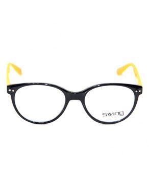 Swing Col.31 Womens Eyeglasses -Black/Yellow
