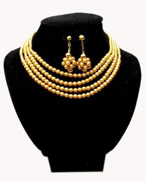 Team Gold Plated Pearls - Gold
