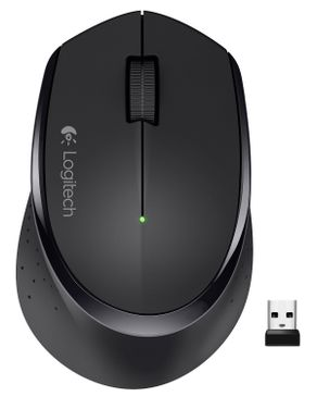 Logitech Wireless Mouse M275- Black