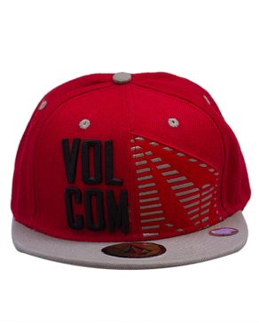 Volcom Mens Curated Cap-Red