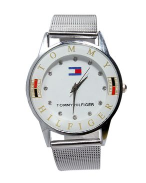 Tommy Hilfiger Womens Stainless Steel Watch - Silver