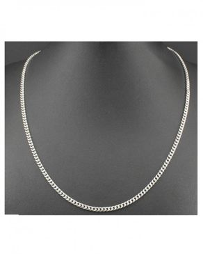 Fashion Unisex Stainless Steel Chain (A)- Silver