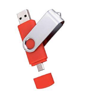 Universal OTG Flash Drive 16GB - Red