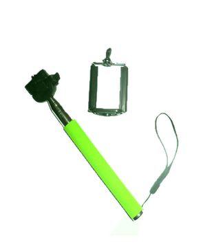 Monopod Selfie Stick - Green