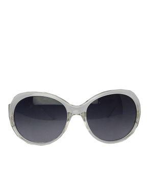 Fashion Round-Face Unisex Sunglasses-Grey