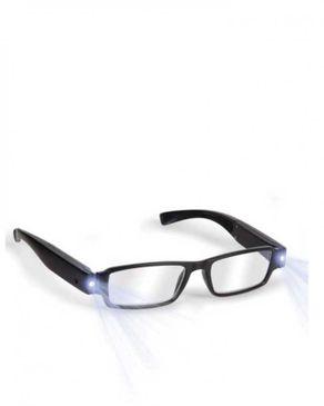 Universal Unisex Stylish Reading Glasses with Dual Led Light