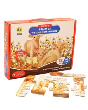 Auldon Psalm 23 Puzzle For Age 3+