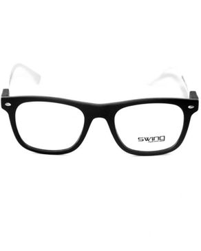 Swing Col.53 Womens Eyeglasses -Black/White.