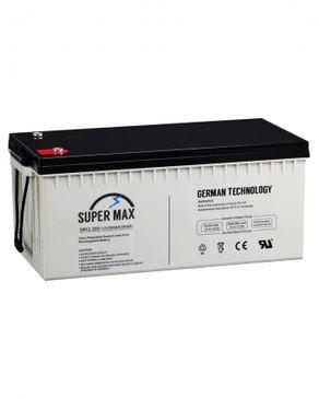 SuperMax (Reduced Shipping Fee) 12V/200Amp Inverter Battery