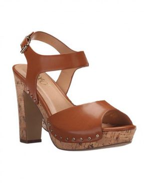 XOXO Studded Designer Sandals - Brown