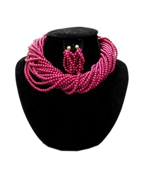 Team Twisted Beaded Jewelry - Pink