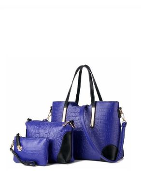 VISION FILL 3-In-1 Hand Bag - Blue